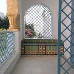 balcone in stanza