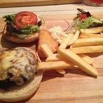 Delicious BBQ Faktory burger