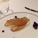 Foie gras maison hum!!!!