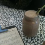 Organic Chocolate Milkshake