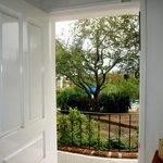 Villa Marmol, vista al jardin