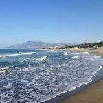La spiaggia di Patara al mattino