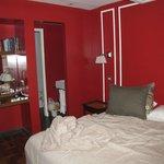 Notre chambre (un peu trop petite)