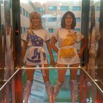 Abba inside the lift, waitin' for the Hotel guests ;)