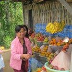 Buying local fruit