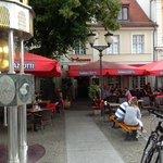 Matador Potsdam - outdoor seating.