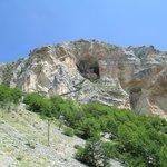 Ingresso grotta visto dalla funivia