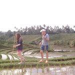 Trekking at Warung tepi Sawah