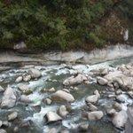 Rio Urubamba visto desde nuestra habitacion,-