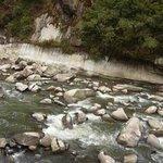 Rio Urubamba visto desde nuestra habitación,-