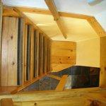 Escalier de chambre à pic (Esc. à 2)