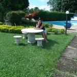 piscina de água natural