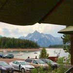 Leeks Restaurant View from deck!