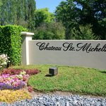 Entrance to Chateau Ste. Michelle Vineyards