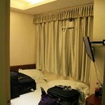 this is room at their another hotel call golden sands. room no 7