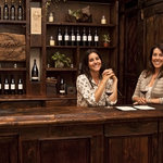 Mandy and Katie Grassini at the Tasting Room