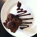Yummy chocolate mud cake