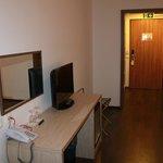 Zona de trabajo en la habitación