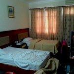 Chambre et rideaux