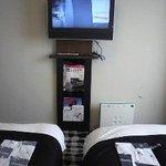 テレビはこの位置