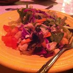 Isadore's Green salad with entree