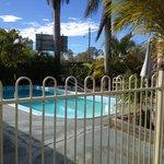 Swimming pool at Bororen Motel