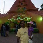 Entrance of Wonderla Amusement Park on 2.3.13