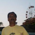 jaint wheel ,Wonderla Amusement Park on 2.3.13