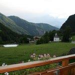vistas desde el balcon de la habitacion Leitenhof