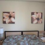 Chambre (twin bedroom : 2 lits séparés, qu'on a rapproché)