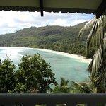 Terrasse avec vue sur la baie