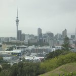 View from Mount Eden volcano