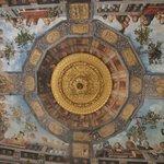 La sala del tesoro di Palazzo Costabili (affreschi di Benvenuto Tisi detto il Garofalo)