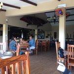 Part of the restaurant / bar