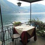 Vista dalla terrazza verso Como