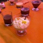 postres buffet cena