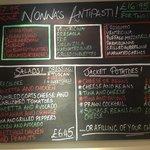 New Antipasti menu