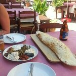 Great meze lunch.