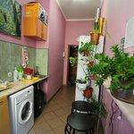 Кухня не велика, но все необходимое для вашего комфорта здесь есть.