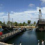 overzicht  vd boten van columbus