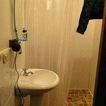 Banheiro (tem até secador cabelo)