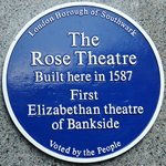 Rose BLUE PLAQUE