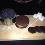 s'mores with homemade marshmallows and cookies