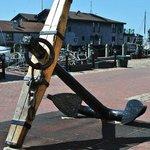 anchor on bowens wharf