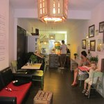 The restaurant..
