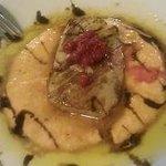 Ventresca de atún rojo con suave salmorejo: 8'50 €