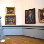 Room of Latvian painting and sculpture of the 1930s