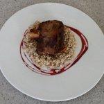 Pork Trotters w/Risotto