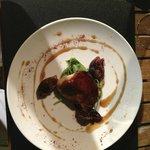 foie gras de canard poêlée et figues rôties