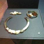 Silver necklace, bracelet & brooch (c.2000)
